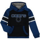 Indianapolis Colts Youth Allegiance Pullover Hoodie - Royal/Black