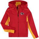 Kansas City Chiefs Youth Fan Tech Hi-Tech Full-Zip Hoodie - Red