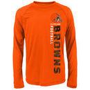 Cleveland Browns Youth Magna Gravity Field Dri-Tek Long Sleeve T-Shirt - Orange