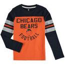 Chicago Bears Youth Retro Legacy Long Sleeve T-Shirt - Orange/Navy