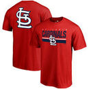St. Louis Cardinals Fanatics Branded End Game T-Shirt - Red