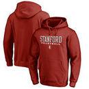 Stanford Cardinal Fanatics Branded True Sport Volleyball Pullover Hoodie - Cardinal