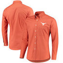Texas Longhorns Antigua Dynasty Long Sleeve Button Down Shirt – Texas Orange
