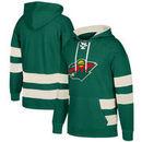 Minnesota Wild CCM Jersey Pullover Hoodie - Green