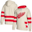 Detroit Red Wings CCM Jersey Pullover Hoodie - Cream