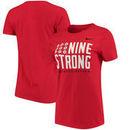 Ohio State Buckeyes Nike Women's Scarlet Student Body Crew Neck T-Shirt