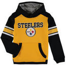 Pittsburgh Steelers Youth Allegiance Pullover Hoodie - Yellow/Black
