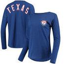 Texas Rangers '47 Women's Courtside Long Sleeve T-Shirt - Royal