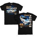 Jimmie Johnson Hendrick Motorsports Team Collection Lowe's Darlington Car T-Shirt - Black