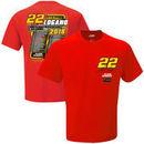 Joey Logano Team Penske 2018 Monster Energy NASCAR Cup Series Race Schedule T-Shirt – Red