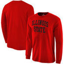 Illinois State Redbirds Fanatics Branded Basic Arch Long Sleeve Expansion T-Shirt - Red