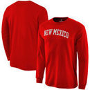 New Mexico Lobos Fanatics Branded Basic Arch Long Sleeve Expansion T-Shirt - Red