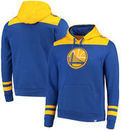 Golden State Warriors Majestic Triple Double Pullover Hoodie - Royal/Gold