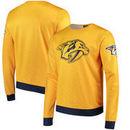 Nashville Predators Static Rain Printed Sweatshirt - Gold