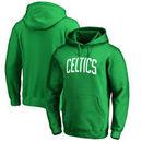 Boston Celtics Fanatics Branded Wordmark Pullover Hoodie - Kelly Green