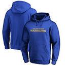 Golden State Warriors Fanatics Branded Wordmark Pullover Hoodie - Royal