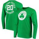 Gordon Hayward Boston Celtics Fanatics Branded Round About Name & Number Long Sleeve T-Shirt - Kelly Green