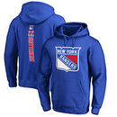 Kevin Shattenkirk New York Rangers Fanatics Branded Backer Pullover Hoodie - Royal