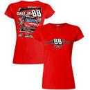 Dale Earnhardt Jr. Hendrick Motorsports Team Collection Women's JR Nation Appreci88ion Tour 2017 Homestead Car T-Shirt - Red