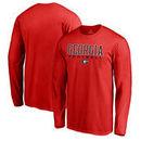 Georgia Bulldogs Fanatics Branded True Sport Football Long Sleeve T-Shirt - Red