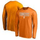 Tennessee Volunteers Fanatics Branded True Sport Football Long Sleeve T-Shirt - Tennessee Orange