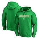 Colorado State Rams Fanatics Branded True Sport Football Pullover Hoodie - Green