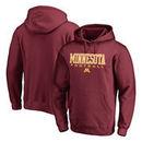 Minnesota Golden Gophers Fanatics Branded True Sport Football Pullover Hoodie - Maroon