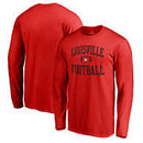 Louisville Cardinals Fanatics Branded Neutral Zone Long Sleeve T-Shirt - Red