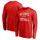 NC State Wolfpack Fanatics Branded Neutral Zone Long Sleeve T-Shirt - Red