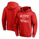NC State Wolfpack Fanatics Branded Neutral Zone Pullover Hoodie - Red