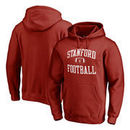 Stanford Cardinal Fanatics Branded Neutral Zone Pullover Hoodie - Cardinal