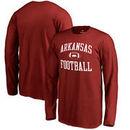 Arkansas Razorbacks Fanatics Branded Youth Neutral Zone Long Sleeve T-Shirt - Cardinal