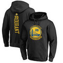 Kevin Durant Golden State Warriors Fanatics Branded Backer Name & Number Pullover Hoodie - Black