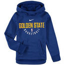 Golden State Warriors Nike Youth Elite Practice Performance Hoodie - Royal