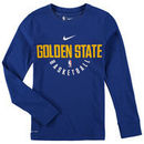Golden State Warriors Nike Youth Elite Performance Practice Long Sleeve T-Shirt - Royal