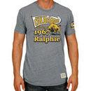Colorado Buffaloes Original Retro Brand Ralphie 50th Birthday Tri-Blend T-Shirt - Gray