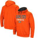 Oklahoma State Cowboys Colosseum Big & Tall Pullover Hooded Sweatshirt – Orange