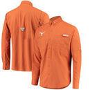Texas Longhorns Columbia Tamiami Long Sleeve Button-Up Shirt - Texas Orange