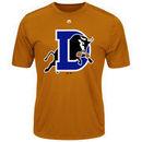 Durham Bulls Majestic Youth Cool Base Evolution T-Shirt - Orange