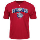 Lehigh Valley IronPigs Majestic Youth Cool Base Evolution T-Shirt - Cardinal
