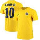 Neymar Santos Paris Saint-Germain Nike Name & Number Away T-Shirt - Yellow
