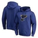 St. Louis Blues Fanatics Branded Splatter Logo Pullover Hoodie - Royal