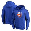 New York Islanders Fanatics Branded Splatter Logo Big and Tall Pullover Hoodie - Royal