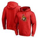 Ottawa Senators Fanatics Branded Splatter Logo Big and Tall Pullover Hoodie - Red