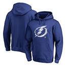 Tampa Bay Lightning Fanatics Branded Splatter Logo Big and Tall Pullover Hoodie - Royal