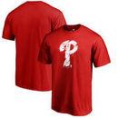 Philadelphia Phillies Fanatics Branded Splatter Logo Big and Tall T-Shirt - Red