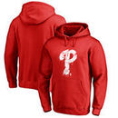 Philadelphia Phillies Fanatics Branded Splatter Logo Pullover Hoodie - Red
