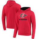 San Diego State Aztecs Arch & Logo Team Tackle Twill Pullover Hoodie – Cardinal