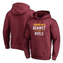 Arizona State Sun Devils Fanatics Branded Against The World Pullover Hoodie - Garnet