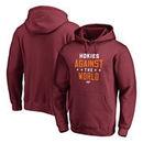 Virginia Tech Hokies Fanatics Branded Against The World Pullover Hoodie - Garnet